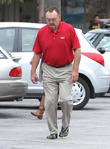Dick Butkus Walking In Barefoot Running Shoes