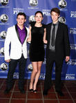 Aviad Bernstein, Haley Ramm and Colin Ford