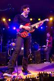 Dweezil Zappa performing at Stubbs BBQ