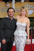 Kelli Garner, Johnny Galecki, Shrine Auditorium, Screen Actors Guild