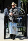 Actress Katherine Heigl heads out