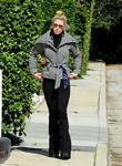 Actress Katherine Heigl  heads out for a...