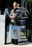 Actress Katherine Heigl  heads out for a business meeting