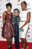 Angela Bassett, Ruby Dee and Mary J Blige