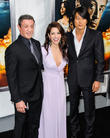Sylvester Stallone, Sarah Shahi and Sung Kang