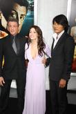Sarah Shahi and Sylvester Stallone