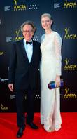 Jeffery Rush, elizbeth debicki, THE STAR, AACTA Awards