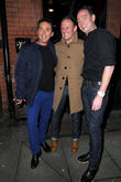 Bruno Tonioli, Antony Cotton and Craig Revel Horwood