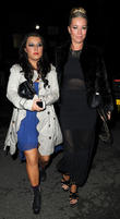Dani Harmer and Denise Van Outen