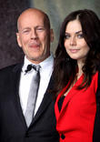 Bruce Willis and Yuliya Snigir