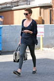 Charlize Theron seen leaving her dance class in West Hollywood