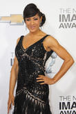 Monica Cabbler arrives at the 44th NAACP Image Awards