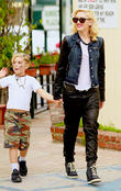 Kingston Rossdale and Gwen Stefani
