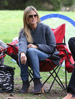 Heidi Klum And Family Soccer