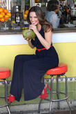 Kelly Brook Films A Commercial At Miami Beach