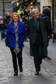 Nicholas Lyndhurst and Amanda Redman