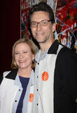 Eve Plumb and Ben Shenkman