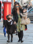 Myleene Klass, Hero Quinn, Ava Quinn, London