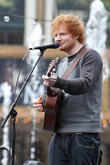 Ed Sheeran At The Grove