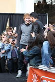 Ed Sheeran at The Grove to appear and perform on entertainment news show 'Extra'