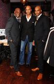 James Brown, Patrick Kodjoe and Boris Kodjoe