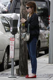 Emma Roberts seen out shopping