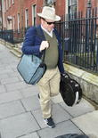 John C. Reilly seen arriving at his Dublin...