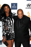 Brandy Norwood, Quincy Jones, Beverly Hilton Hotel, Grammy