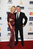 Yolanda Hadid, David Foster, Beverly Hilton Hotel, Grammy