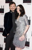 Matthew Williamson and Andrea Riseborough