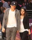 Mila Kunis, Ashton Kutcher, Staples Center