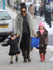 Myleene Klass, Hero Quinn and Ava Quinn