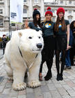 Greenpeace Arctic Polar Bear, Models, London Fashion Week