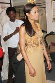Naomie Harris at a pre-Oscar dress fitting