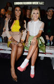 Mollie King, Rochelle Wiseman, London Fashion Week