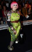 Zandra Rhodes, London Fashion Week