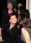 Sharon Osbourne, Simon Cowell, Louis Walsh, Sinitta and Mezhgan Hussainy
