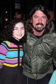 Dave Grohl and Lilla Crawford