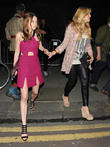 Rosie Fortescue and Cheska Hull