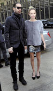 Michael Polish, Kate Bosworth, London Fashion Week