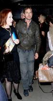 Gerard Butler leaving the 8th Annual Los Angeles Italia Film, Fashion and Art Festival honoring Al Pacino