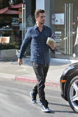 Kourtney Kardashian, Scott Disick and their daugher, Penelope seen out and about