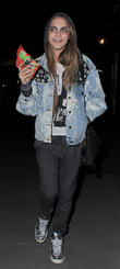 Cara Delevingne Leaves 'The Cockpit' pub