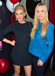 Ashley Roberts and Anna Muravyeva