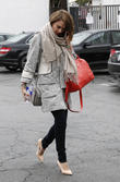 Jessica Alba seen out shopping