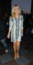 Mollie King, London Fashion Week, Somerset House