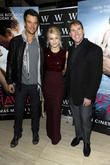 Josh Duhamel, Julianne Hough and Nicholas Sparks