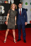 Gabby Logan and husband Kenny Logan