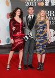 Gemma Arterton, Luke Evans and and guest