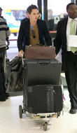 Eddie Redmayne arrives at LAX airport